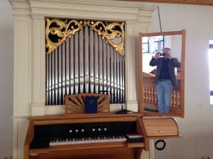 Spiegelselfie Rg mit Biebert-Orgel
